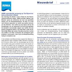 RIWA Nieuwsbrief 7