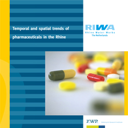 Temporal and spatial trends of pharmaceuticals in the Rhine