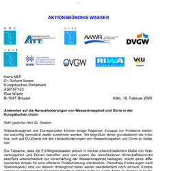 RIWA Aktionsbündnis Wasser / Water Alliance no.4