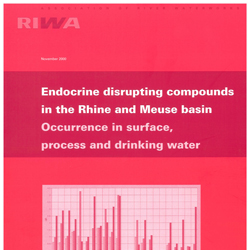 Endocrine disrupting compounds in the Rhine and Meuse basin – Occurrence in surface, process and drinking water