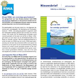 Riwa-Rijn Nieuwsbrief nr 1