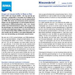 RIWA | Nieuwsbrief nr. 10