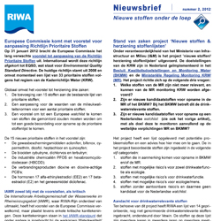 Riwa-Rijn Nieuwsbrief nr 2.