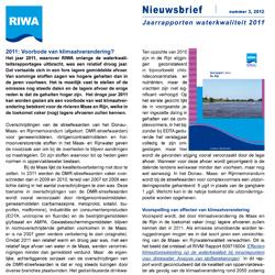 RIWA-Rijn Nieuwsbrief nr .3