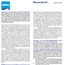 RIWA-Rijn Nieuwsbrief nr 4