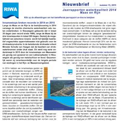 RIWA Nieuwsbrief 13
