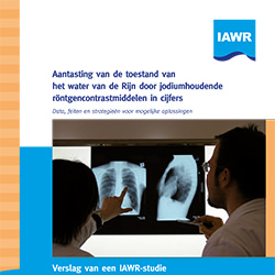 Aantasting van de toestand van het water van de Rijn door jodiumhoudende röntgencontrastmiddelen in cijfers | RIWA-Rijn